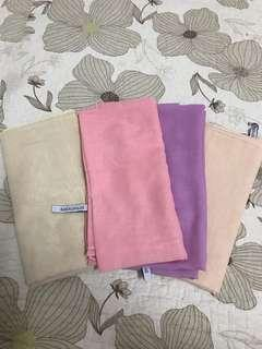 Bawal malas in pastel set 4 pieces