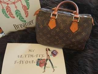 Authentic Louis Vuitton Speedy 25 Monogram