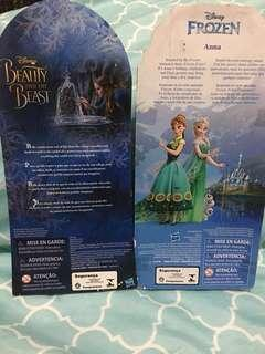Buy 1 take 1!!!Frozen and Beauty and the Beast Doll