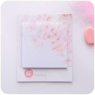 🚚 Sakura Sticky Note - #1
