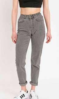 UO - BDG grey mom jeans