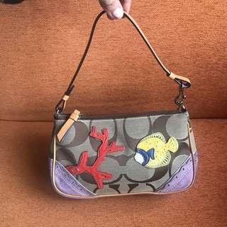 Coach pochette bag