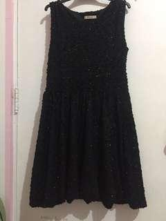 Alexandre Black Shimmering Dress