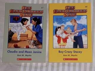 The Baby-Sitters Club ( 2 Books for $10)