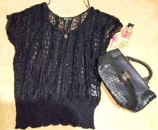 Chicabooti black see through top ❤❤❤