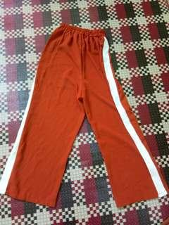 One set celana + atasan sabrina