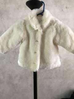 Toddler faux fur jacket