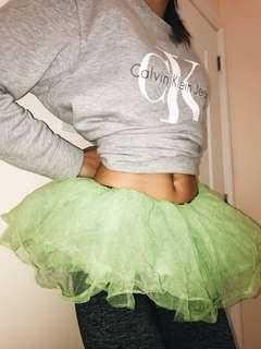 Green tutu for Halloween costume