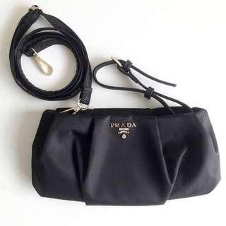Prada authentic gift sling / clutch bag