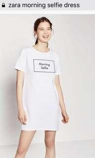 ZARA Morning Selfie Dress