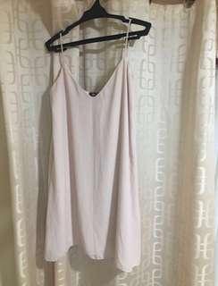 Alison Bell Nude Slip on Dress