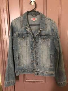Max Jeans denim washed jacket