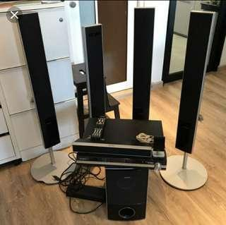 Sony DVD home theatre system.