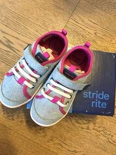 [全新低放] stride rite 休闲便服波鞋 美國名牌健腳鞋 10w size 26 4-5歲