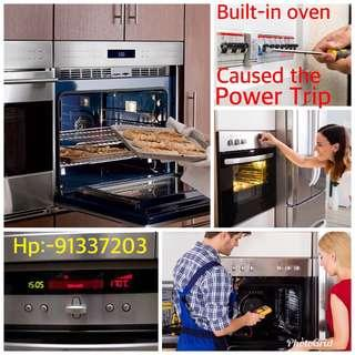 Oven power trip issues troubleshooting repair service 91337203