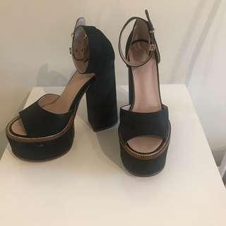 TONY BIANCO Chunky Black platforms