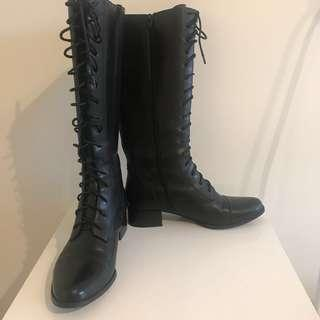 WITTNER Black High Boots