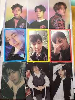 Got7 Eyes on you Photocards (WTT)