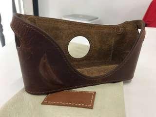 Cam-In Leather Brown Half Case for M2-M7/M-P/ M-A Film Leica
