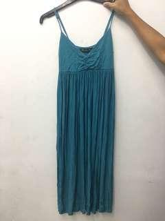 Jersey spaghetti dress