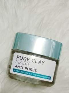 L'oreal Pure Clay Mask Anti Pores