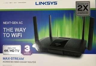 Linksys EA8100 Max Stream AC2600 MU-MIMO Gigabit Wifi Router: DFS Capability