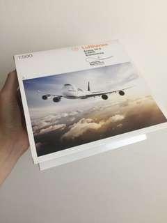 Lufthansa 1:500 Boeing 747 金屬飛機模型