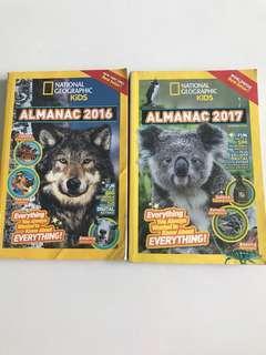 National Geographic kids Almanac 2016/2017