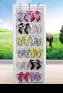 Multi-purpose Over the Door Hanging Shoes Organiser free normal mail
