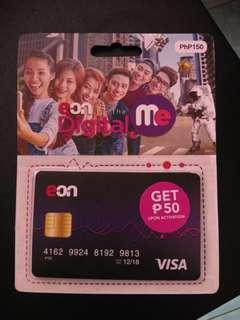 Unopened EON Unionbank debit card