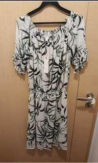 New/tags Esprit leafy dress. Bought for $119