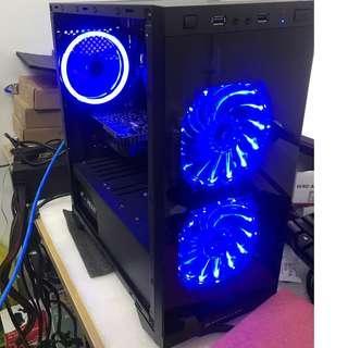 Ryzen 3 2200G + GTX 1050 Ti 4GB - Budget Custom Gaming Desktop PC