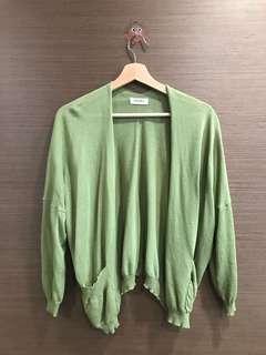 🚚 韓國 綠色短版 外套