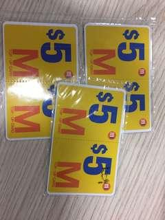 M1 Top Up Card $15