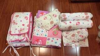 Owen comforter/bumper set