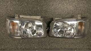 Toyota Hiace headlights (Original parts)