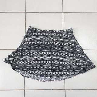 H&M Skater Skirt (Aztec)