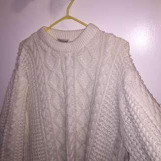 Knit Oversized Sweater (thrifted)