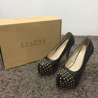 Sidewalk Zalora Studded Platform Heels