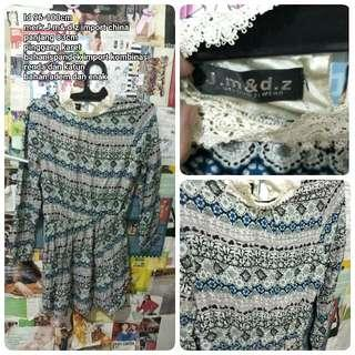 Mini Dress Import Motif