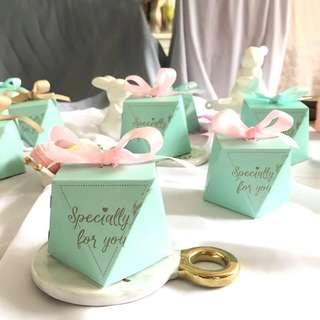 Tiffany Style Specially For You Wedding Candy Box