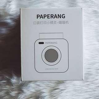 Paperang mini printer +free film