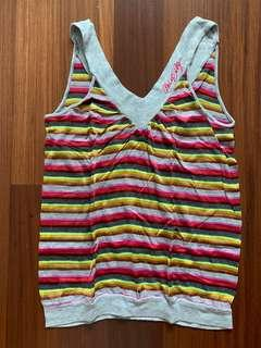 Miss Sixty multi-colored top Size S