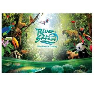 River Safari Singapore Adult E-Ticket (ONE ticket only)
