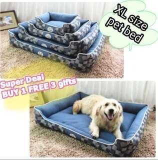 XL size Extra Large pet Bed bed Washable bed for big dog PetFusion Premium Edition Ultimate Dog Lounge LARGE Dog Bed  2Sold
