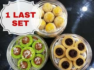 HAPPINESS BUNDLE SET - ONDEH ONDEH TART / OLD SCHOOL PEANUT COOKIES / D'LATELLA