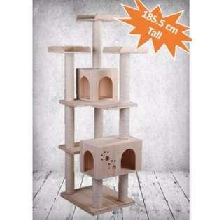 [Instock] 1.85CM Tall Cat Climbing Tree/ Cat Gym / Cat Furniture / Cat House