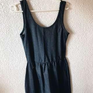 candies denim print dress