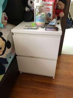 MALM chest drawer - white