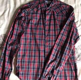 Zara Men's Checker Shirt